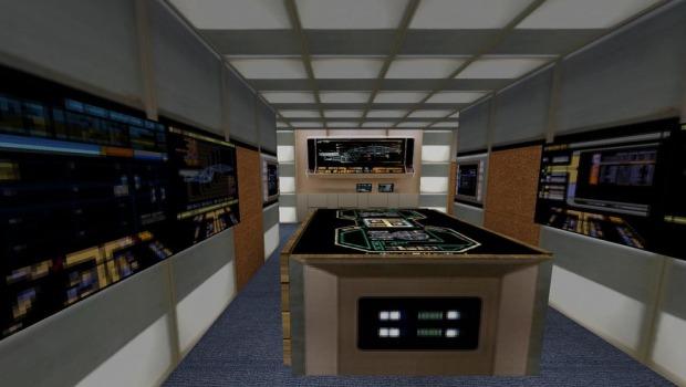 Todos os painéis luminosos da sala de engenharia são animados (Foto: Reprodução/Zinnsee)