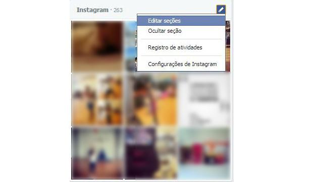 Nova linha do tempo do Facebook está mais personalizável (Foto: Reprodução/Aline Jesus)