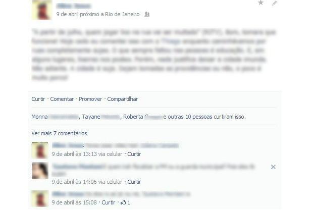Postagens na nova linha do tempo do Facebook recebeu poucas mudanças (Foto: Reprodução/Aline Jesus) (Foto: Postagens na nova linha do tempo do Facebook recebeu poucas mudanças (Foto: Reprodução/Aline Jesus))