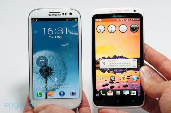 Guerra entre Samsung e HTC é acirrada (Foto: Reprodução/Engadget)