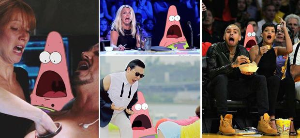 Patrick Surpreso: meme bombou com várias montagens (Foto: Reprodução / TechTudo)