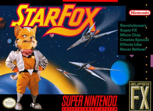 A caixa de Star Fox para SNES (Foto: Reprodução/Nintendo)