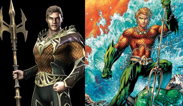 Aquaman é o rei de um reino submerso (Foto: Divulgação)