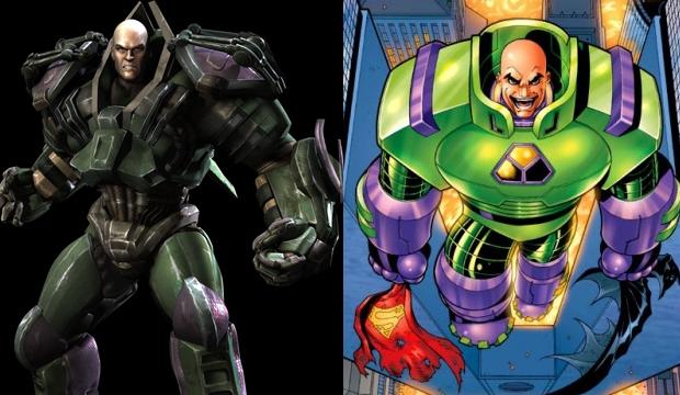 Lex Luthor usa uma armadura que lhe dá força e voo (Foto: Divulgação) (Foto: Lex Luthor usa uma armadura que lhe dá força e voo (Foto: Divulgação))