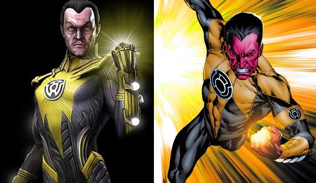 Sinestro tem uma tropa inteira com seu nome (Foto: Divulgação) (Foto: Sinestro tem uma tropa inteira com seu nome (Foto: Divulgação))