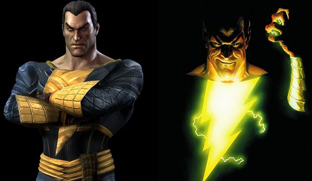 Adão Negro é o grande inimigo do Capitão Marvel (Foto: Divulgação) (Foto: Adão Negro é o grande inimigo do Capitão Marvel (Foto: Divulgação))