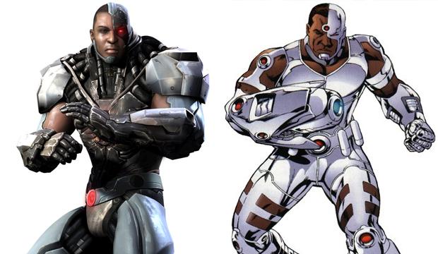 Cyborg atualmente está na Liga da Justiça nos quadrinhos (Foto: Divulgação)
