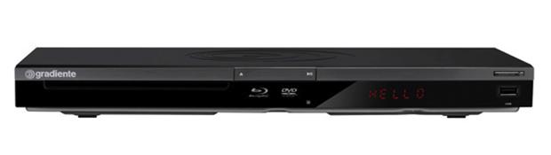 Blu-Ray Player Gradiente BD 100 (Foto: Reprodução/Gradiente)