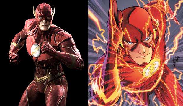 Flash é o herói mais veloz do mundo (Foto: Divulgação)