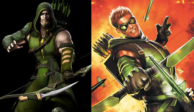 Arqueiro Verde usa arco e flecha para combater seus inimigos (Foto: Divulgação)
