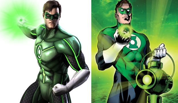 Lanterna Verde da Terra é Hal Jordan, que tem um anel energético (Foto: Divulgação)