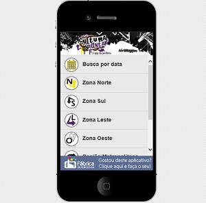 App oferece dicas de cultura em SP (Foto: Reprodução Universo Mobi)