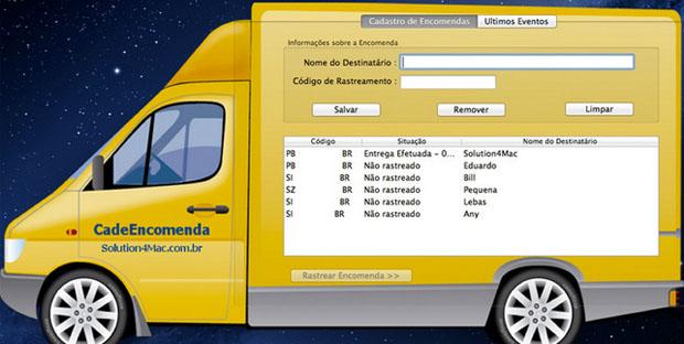 CadeEncomenda (Imagem: Reprodução / Daniel Pinto)