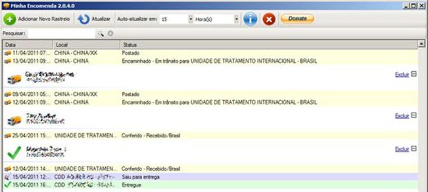 Minha Encomenda para Windows (Imagem: Reprodução / TechTudo)
