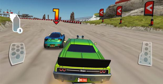 Nitro é um jogo de corrida com carinhos bonitinhos e gráficos excelentes (Foto: Divulgação)