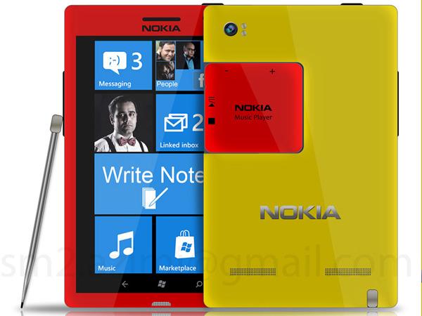 Lumia Foblet da Nokia teve conceito criado por fã (Foto: Reprodução/WP.Pandaapp)
