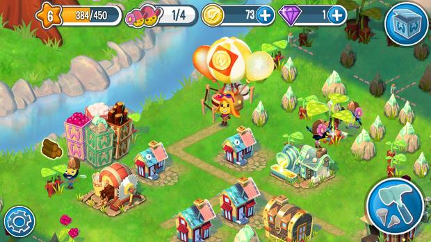 Pocket Village é um jogo onde além de plantar, você terá que vender itens para os seus amigos (Foto: Divulgação)