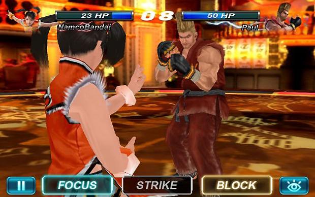 Escolha Focus, Strike ou Block antecipando a reação do seu oponente (Foto: joystiq.com)
