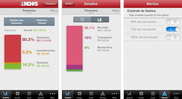 Tenha masi controle sobre seus gastos com a ajuda do app Conta Corrente (Foto: Divulgação)