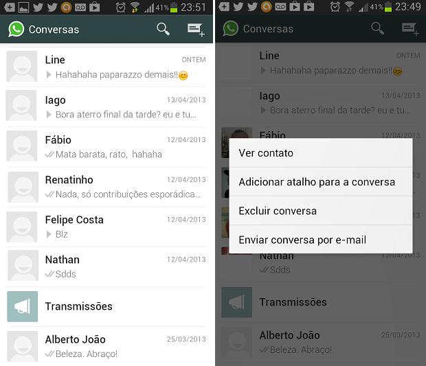 Esta é a opção mais simples de mandar mensagem por e-mail (Foto: Reprodução/Thiago Barros)