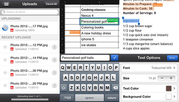 Google Drive permite editar planilhas e documentos e fazer uploads (Foto: Divulgação)