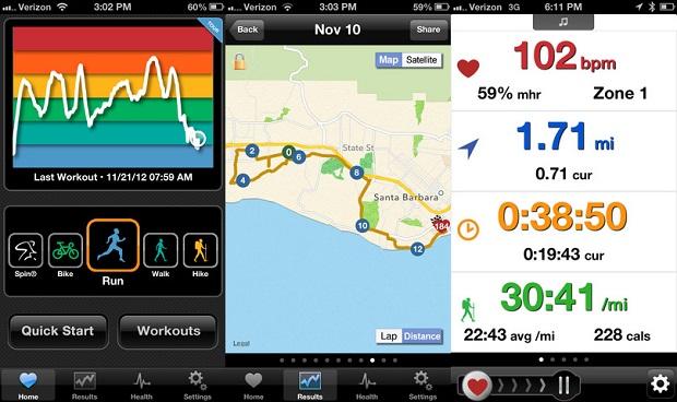 iBiker ajuda a medir seu gasto calórico nas atividades físicas (Foto: Divulgação)