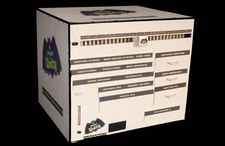 Project Unity conta com 15 consoles em um. (Foto: Reprodução)