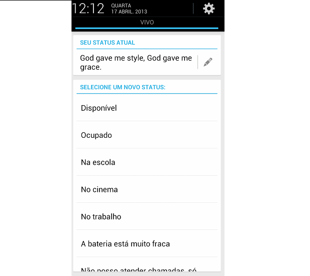 trechos de musica para status whatsapp | Android, iPad - Holiday and ...