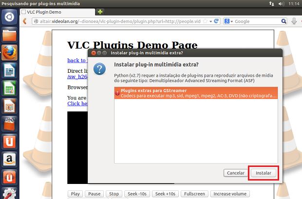 Instalando codecs adicionais para o VLC reproduzir (Foto: Reprodução/Edivaldo Brito)