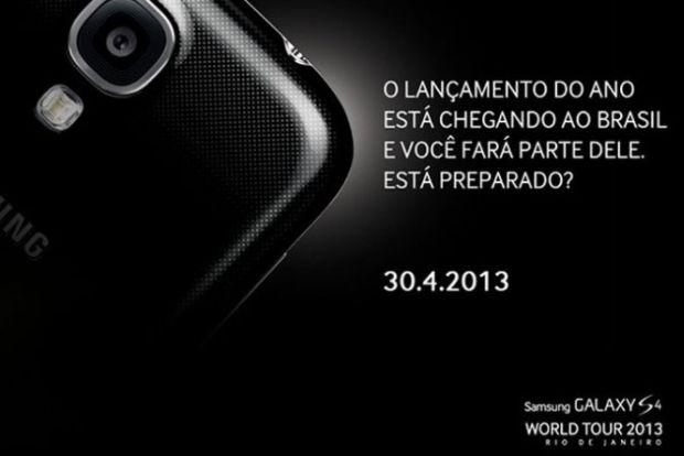 Lançamento do S4 no Brasil (Foto: Divulgação)