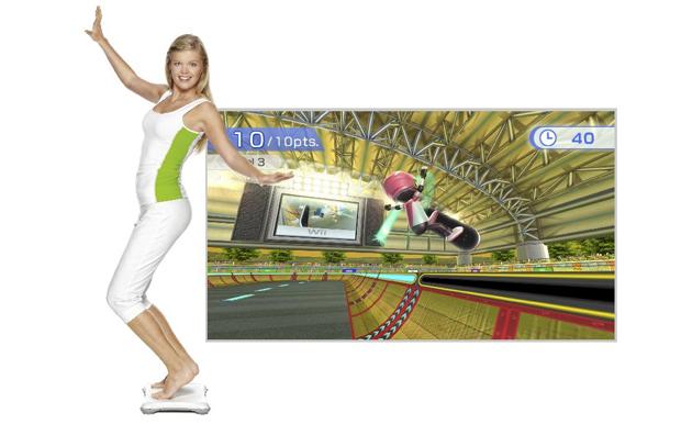 A Balance Board do Wii Fit dá muitas opções para entrar em forma (Foto: Divulgação)