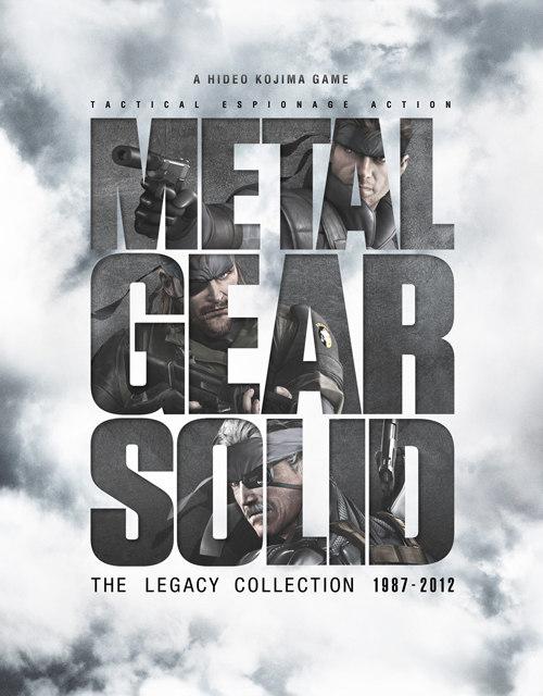 A capa oficial de Metal Gear Solid: Legacy Collection (Foto: Divulgação)