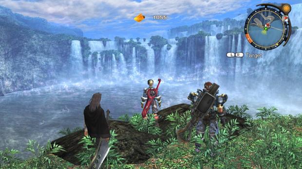 As belas e vastas paisagens de Xenoblade Chronicles (Foto: Divulgação)