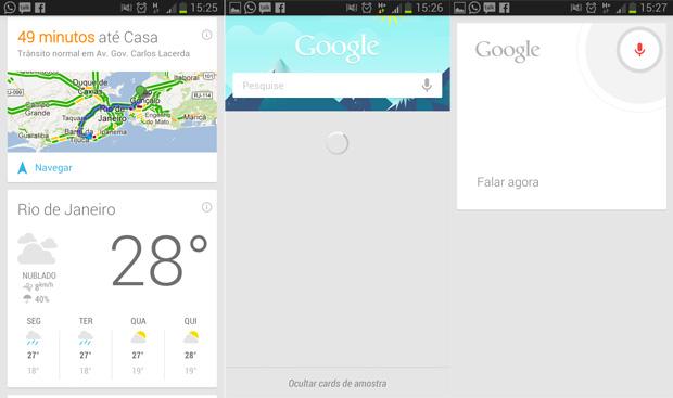 Now, assistente do Android, pode chegar em breve ao buscador do Google (Foto: TechTudo)