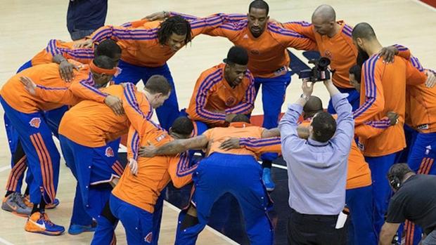 O time de basquete New York Knickerbockers exibirá imagens de seus fãs durante os intervalos dos jogos disputados em casa (Foto: Reprodução/Mashable)