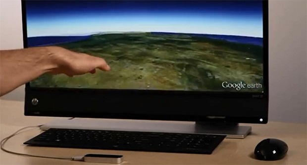 Google Earth agora pode ser controlado pelo Leap Motion (Foto: Reprodução/SlashGear)