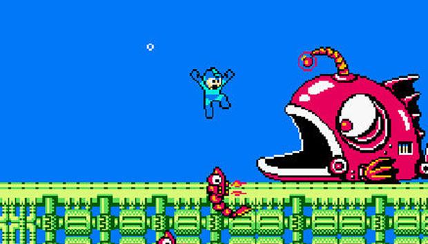 Mega Man 2 retornou em toda sua glória no Wii (Foto: Divulgação)