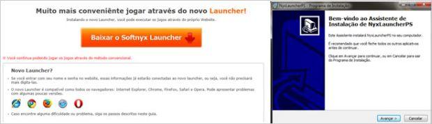 Launcher para jogar o Gumbound (Foto: Divulgação)