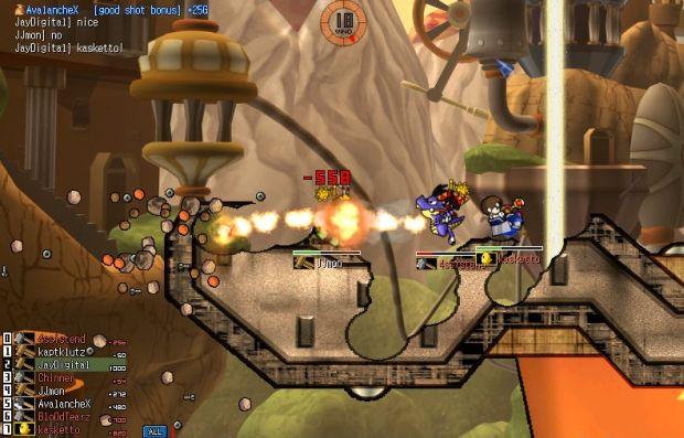 Resultado de imagem para gunbound partida online