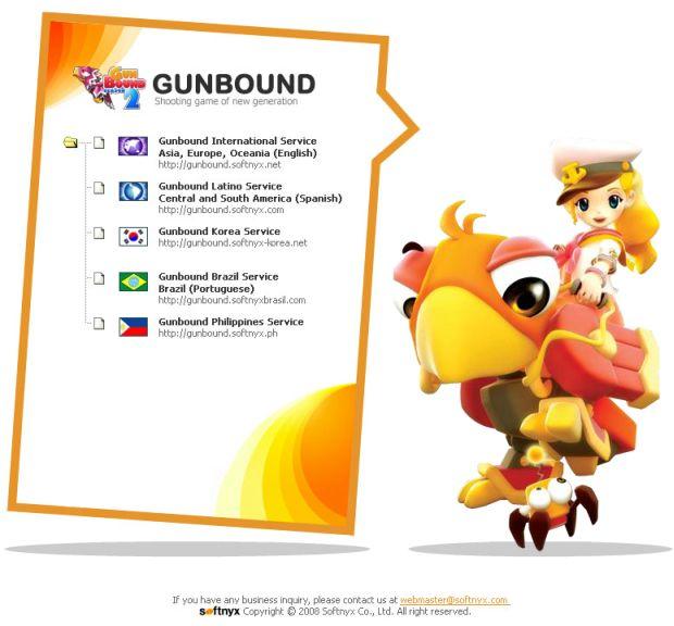Gunbound está disponível até em português (Foto: Divulgação)