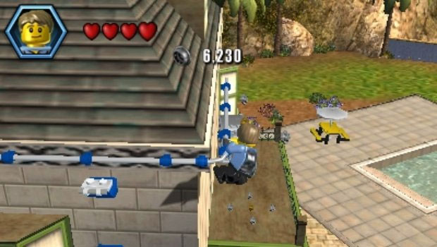 LEGO City Undercover: The Chase Begins é clone de GTA no 3DS (Foto: Divulgação)