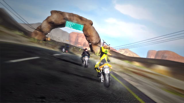 Road Redemption promete resgatar as emoções de Road Rash (Foto: Divulgação)