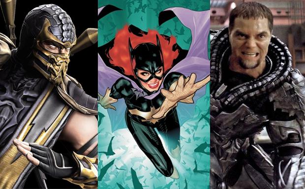 Scorpion, Batgirl e Zod podem chegar a Injustice (Foto: Divulgação)