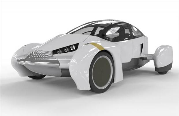 Super leve, o carro  tem configuração para dois ocupantes (Foto: Reprodução)