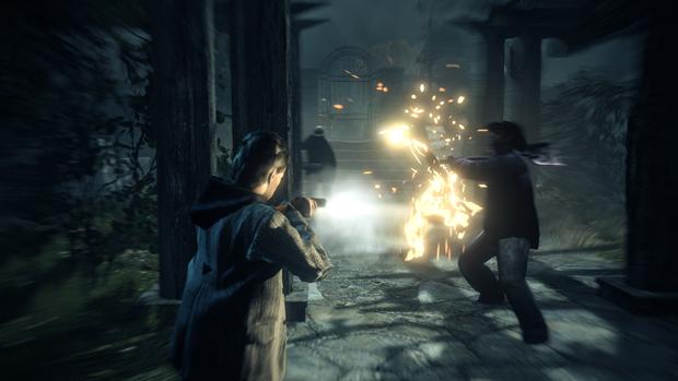 Alan Wake traz suspense e ação para o Xbox 360. (Foto: Reprodução)