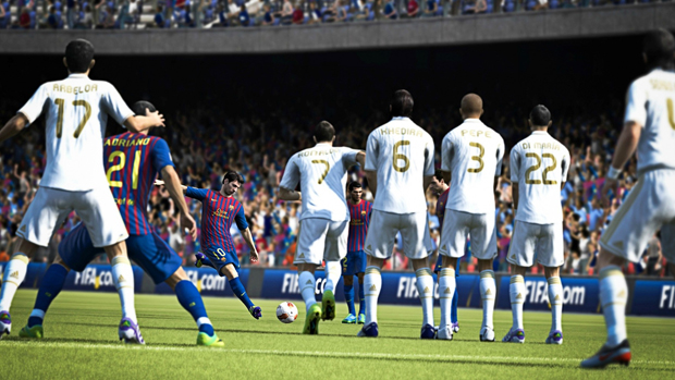 Fifa 13 traz jogabilidade incrível e variados modos de jogo. (Foto: Divulgação)
