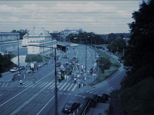 Efeito Câmera de Vigilância (Foto: Reprodução/André Sugai)