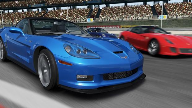 O modo online é o ponto forte de Forza Motorsport 4. (Foto: Divulgação)