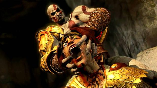 Kratos termina sua vingança em um jogo extremamente violento. (Foto: Divulgação)