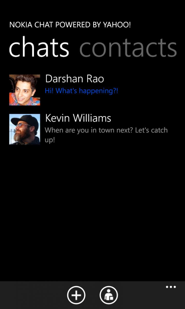 Nokia Chat ganha versão beta exclusiva aos Lumias (Foto: Divulgação / Nokia Beta Labs)